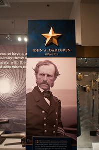 2009-10-03 - USNA Museum - 326 - Profiles (John A Dahlgren) - _DSC7741