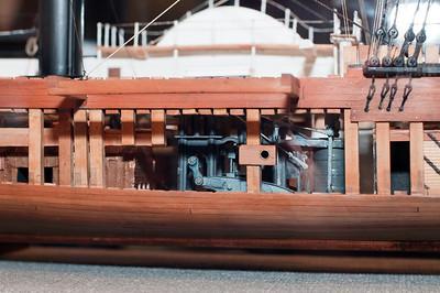2009-10-03 - USNA Museum - 325 - Sidewheel Frigate - USS Missouri & USS Mississippi (steam engine) - _DSC7739