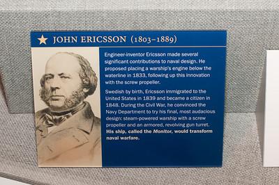 2009-10-03 - USNA Museum - 321 - Profiles (John Ericsson) - _DSC7735