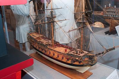 2009-10-03 - USNA Museum - 046 - British 4th Rate 60-Gun Ship of 1735 - _DSC7430