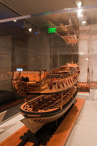 2009-10-03 - USNA Museum - 018 - British 3rd Rate 70-Gun Ship of 1715 - _DSC7396