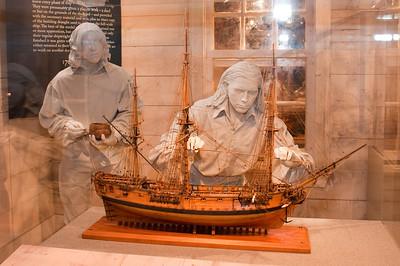 2009-10-03 - USNA Museum - 025 - Ship Model Maker Display - _DSC7403
