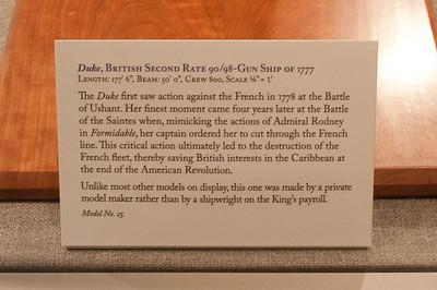 2009-10-03 - USNA Museum - 039 - Duke - 2nd Rate 98-Gun Ship of 1777 - _DSC7421