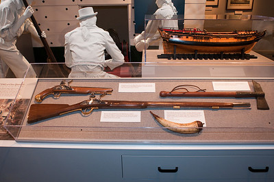 2009-10-03 - USNA Museum - 041 - Muskets and Rifles - _DSC7424