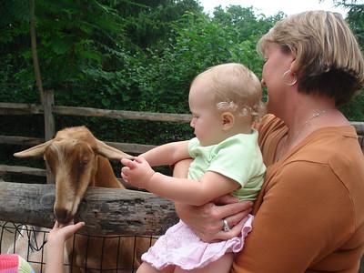 Cincinnati Zoo with Grandma J