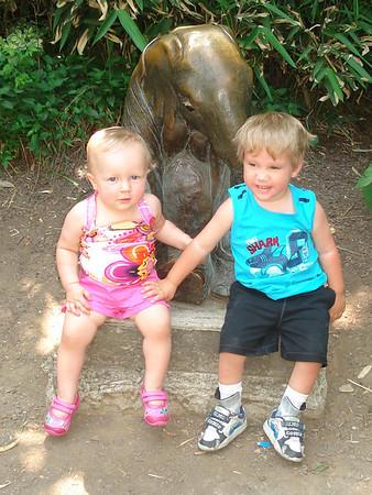Cincinnati Zoo with Kobe