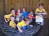 A nestful of kids!