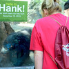 "Humans saying, ""Hello to Hank!"""