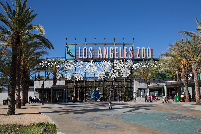 Entry to the Los Angeles Zoo - November 2014