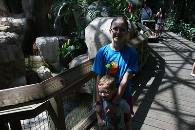 Mother's Day at Ft. Worth Zoo - May 2013