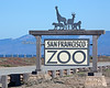 The San Francisco Zoo Sign - on a clear day!