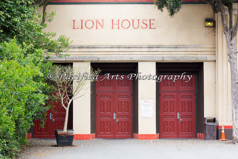 Lion House - a building with a lot of history.  Makes me think of Jack Castor, the Lion man, when I walk through these doors.