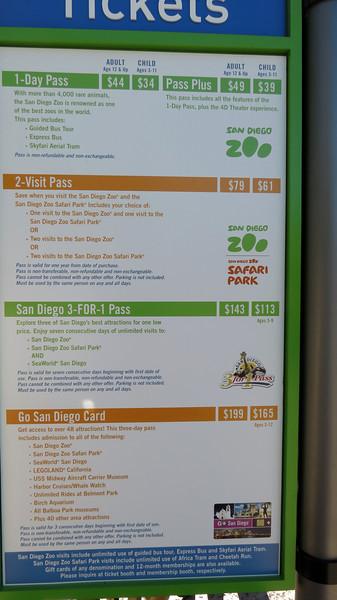 San Diego Zoo/Balboa Park - 3/11/2013