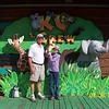 Grandpa & Cassandra touching Snake