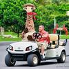 Giraffe goes on tour