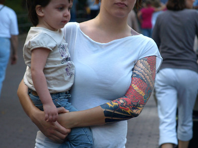 Mother tattoo.