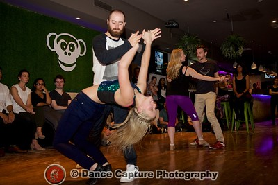 Advanced Competition Canberra's Best Zouk Social Dancer - 9 May 2016 - Latin Mondays @ Monkeybar