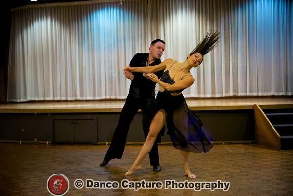 Scott Callow and Rebecca Hall