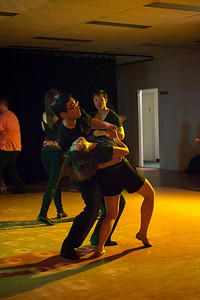 Zouk, Bachata with a touch of Salsa.  Tuesday night in Canberra