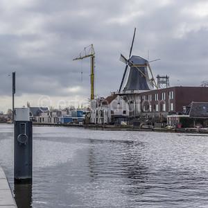 Alphen aan den Rijn - Windmolen de Eendracht