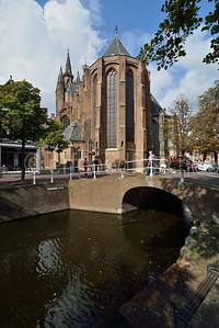 Delft - Oude of Sint-Hyppolytuskerk