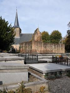 Hillegersberg - Ruine kasteel Ten Berghe