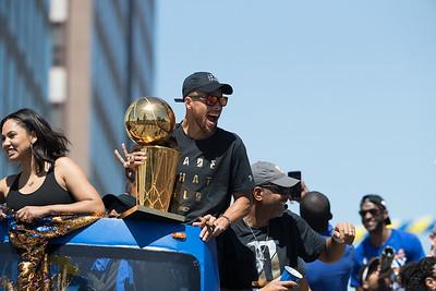 Warriors NBA Championship Parade
