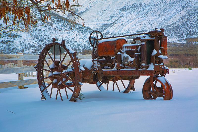 ~ 1934 Ritchison Farmall Tractor ~