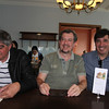 Toninho, Luiz Paulo e Bruno