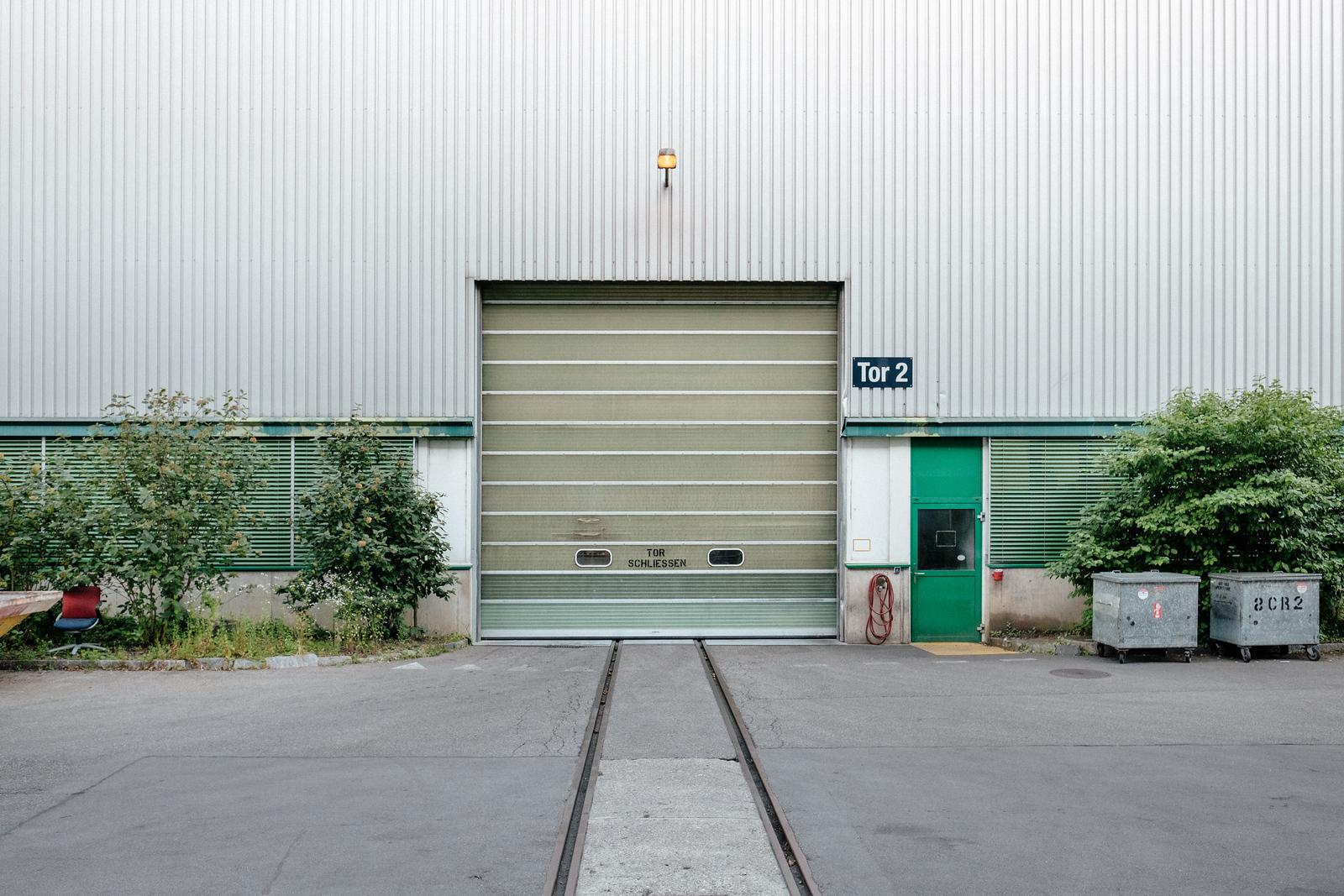 Factory door in Zurich