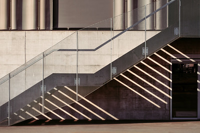 Stairs of Toni Areal Zurich