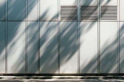 Detail of a building in Zurich