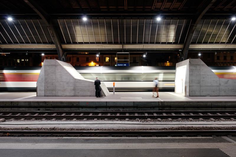 Zurich Hauptbahnhof trainstation