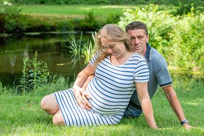 Zwangerschapsshoot Gerrie en Ernst