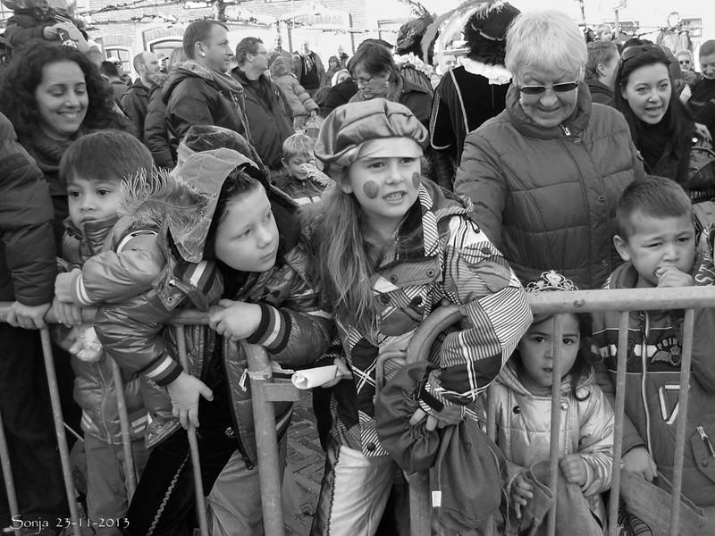 23-11-2013 Intocht Sinterklaas Zwartewaal