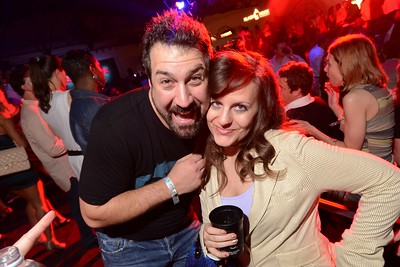 Joey Fatone and Melssa Ratliss at the 2013 Maxim Fillies & Stallions Derby Eve Party. May 3, 2013.