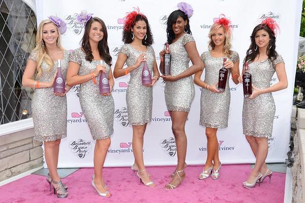 Zymage Promo Models Destiny Dever, Brittany Downs, Gabriella Castillo, Jenne' Jackson, Amber Turner and Nathalia Londono.