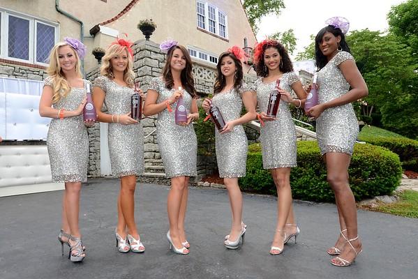 Zymage Promo Models Destiny Dever, Amber Turner, Brittany Downs, Gabriela Castillo and Jenne's Jackson.