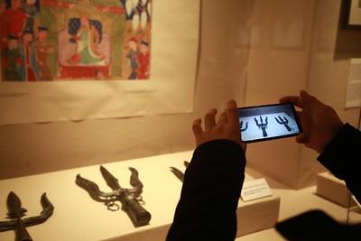 """2021 оны аравдугаар сарын 26. """"Монголын эзэнт гүрэн"""" дижитал танхимын нээлт боллоо.  ГЭРЭЛ ЗУРГИЙГ Д.ЗАНДАНБАТ/MPA"""
