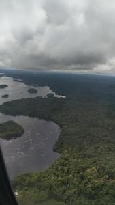 Landing in Sao Gabriel da Cachoiera