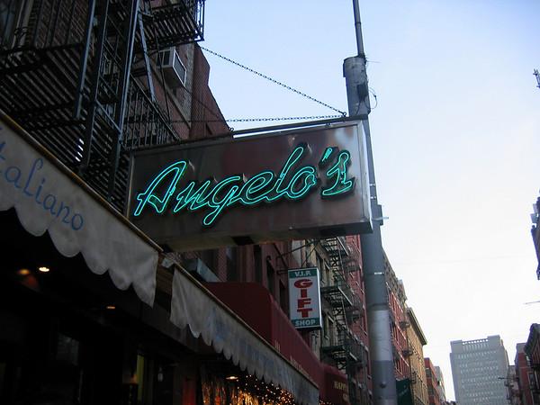 Anita, Nick & Sharyn in NYC 2008