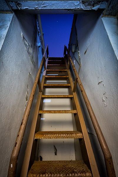 Stairs to the Roof