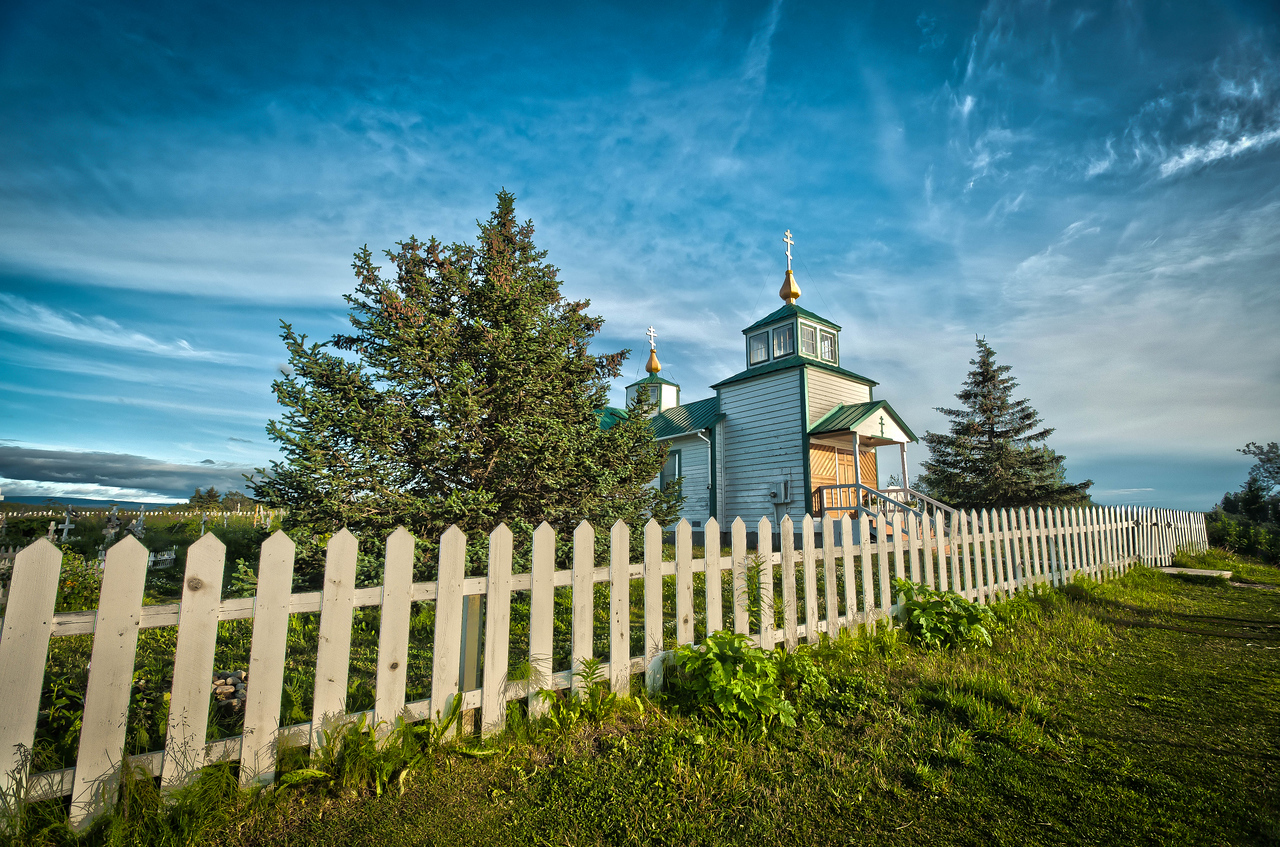 Russian Church Ninilchik alaska