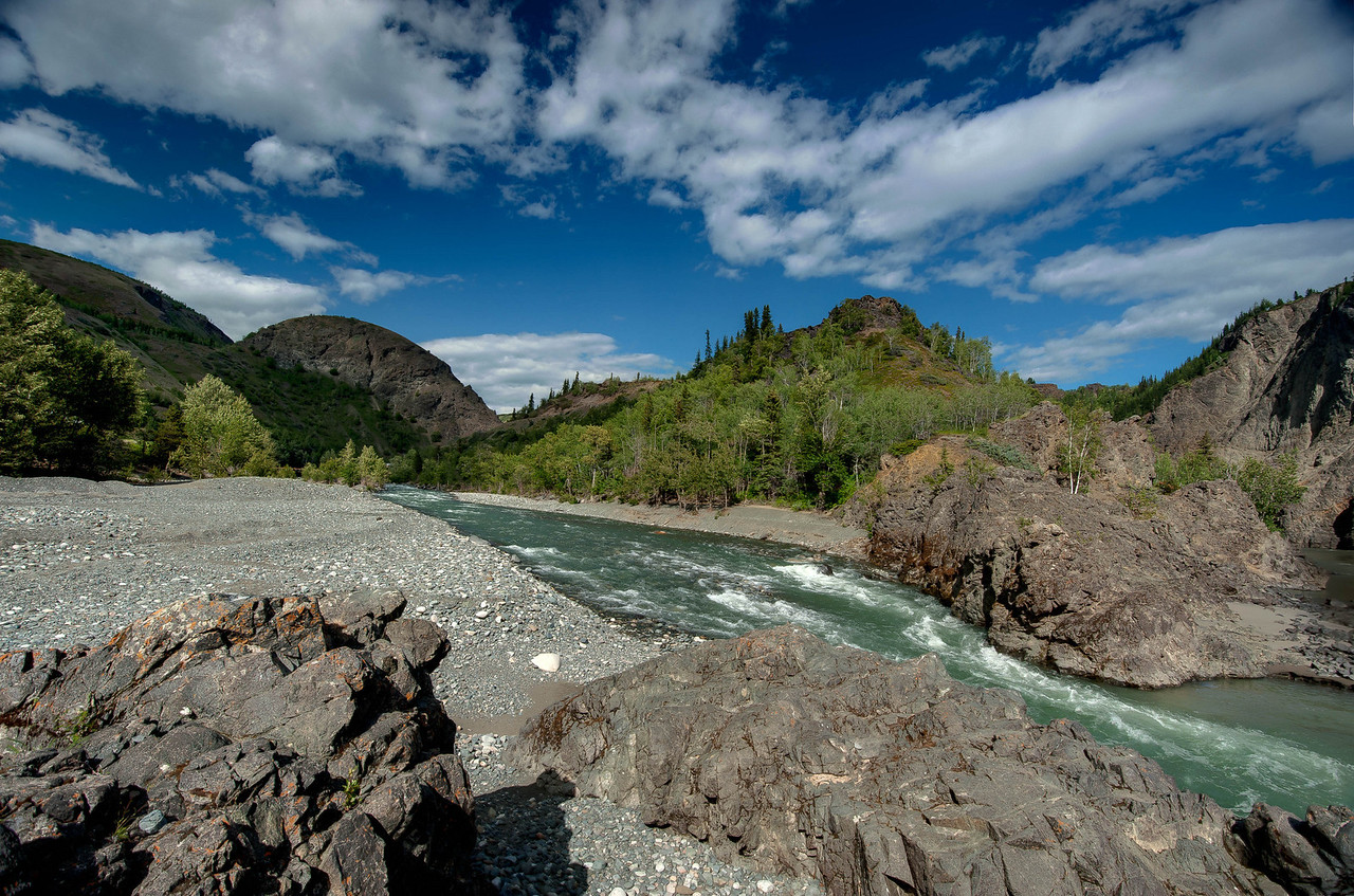 Stikine River, Telegraph Creek Road, British Columbia