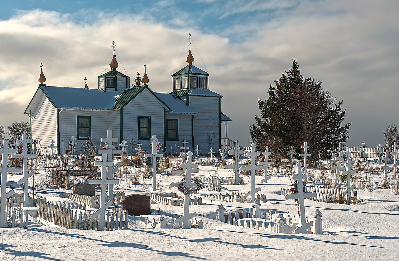 Russian Church, Ninilchik, Alaska