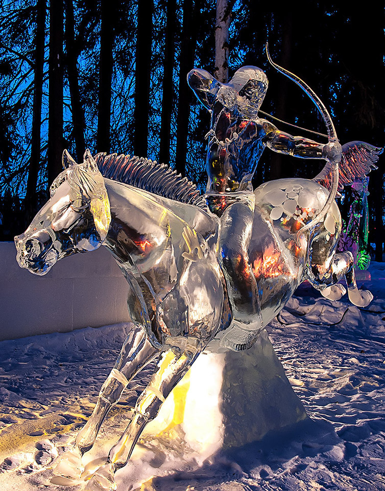 Ice Art Fairbanks Alaska