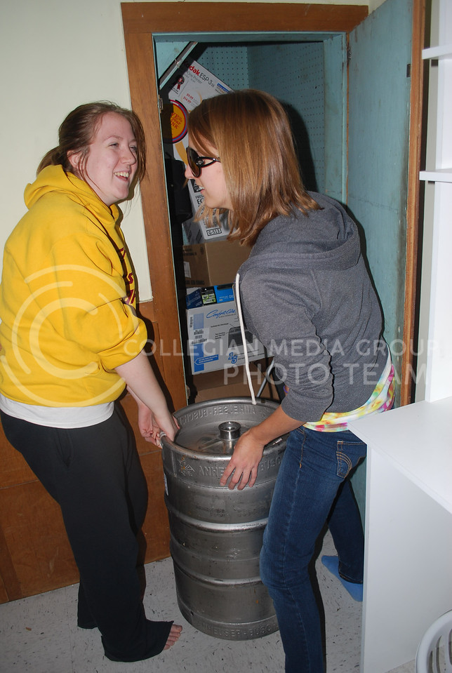 When considering moving back in with parents, it might be time to hide the kegs in the closet.