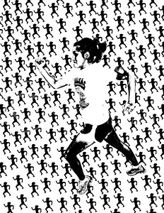 The Runner Illustration