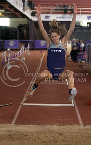 Julia Zeiner finished seventh  in Saturday's women's long jump competition, the best of all the competing Kansas State women in the competition at the Wildcat Invitational Saturday.