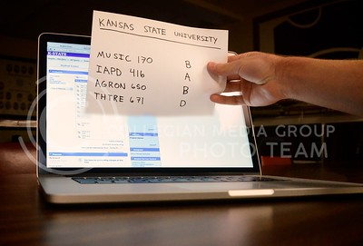 (Photo by Parker Robb | Collegian)  K-State students now have the option to send electronic transcripts to employers directly from their iSIS accounts.